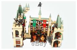 Nouveau 100% Complet Harry Potter Hogwarts Bâtiment Du Château Jouet Brique Set 4842 Jouets