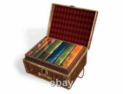 Nouveau 7 Harry Potter Hardcover Books Série Complète Boîte De Collection Lot Cadeau