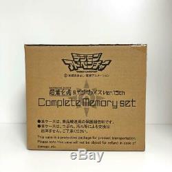 Nouveau Digimon Adventure Digivolving Spirits & Digivice Ver15th Kit De Mémoire Complète