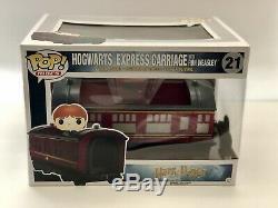 Nouveau Funko Pop Rides! Harry Potter Poudlard Express Train Complet 3pc (rare)