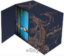 Nouveau Harry Potter 7 Livres Collection Complete Box Livre Relié Absolvez Au Poste