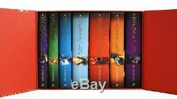 Nouveau Harry Potter 7 Livres Collection Complète Couverture Coffret Cadeau Coffret Gratuit Au Post