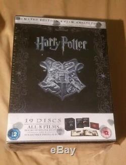 Nouveau Harry Potter L'intégrale 1-8 Collection De Films En Édition Limitée Blu-ray + DVD