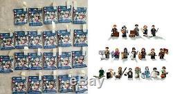Nouveau Jeu Complet De 22 Lego 71022 Harry Potter Et Figurines Animaux Fantastiques