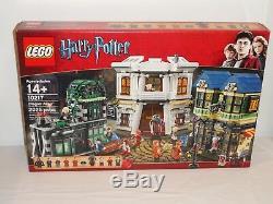 Nouveau Lego Harry Potter 10217 Diagon Alley Retiré Boîte Scellée Complète 2011
