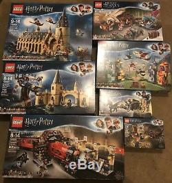 Nouveau Non Ouvert Ensemble Complet De Harry Potter 2018 Et De Fantastic Beasts Legos
