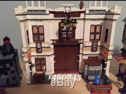 Nouveau Scellé Personnalisé Harry Potter Diagon Alley 10217 Blocs De Construction Ensemble Complet