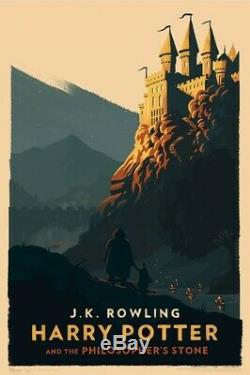 Olly Moss Harry Potter Giclée Prints 16x24, Édition Complète, Ensemble Complet De 7