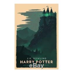 Olly Moss Série Limitée De 7 Gravures Giclée Harry Potter En Édition Limitée