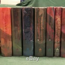 Original Harry Potter Complete Set -7 Première Editions- 7 Impressions Premier