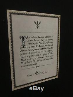 Page Harry Potter Pour Projeter Le Parcours Complet Du Réalisateur (édition Collector)