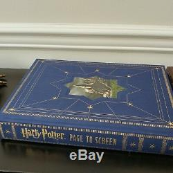 Page Numérotée De Harry Potter À L'écran Coffret Collector Journey Complete Filmmmaking