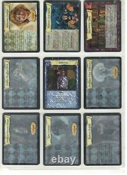 Rare 5 Ensembles Harry Potter Complets 498 Cartes Incl. 140 X Foils Holo Tcg Ccg