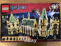 Rare Complet Coffret Lego Harry Potter Poudlard Castle (4842) Ex Con Box Manuel