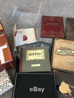 Rare Harry Potter Edition Limitee Coffret Années 1 À 5 Blu Ray Box Complete