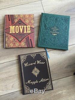 Rare Harry Potter Page À L'écran Complete Edition Collector Filmmaking Journey