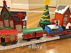 Rare Thomas Le Train Thomas Livraison De Noël Trackmaster Set Complet 2011