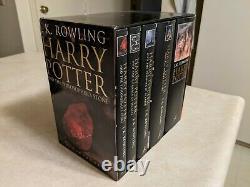 Rayons! Harry Potter Ensemble Complet Pour Adultes Édition Du Royaume-uni Bloomsbury Couverture Rigide