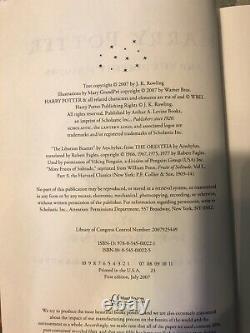 Remplissez Harry Potter Book Set Volumes 1-7 Relié Editions Tous Premiers