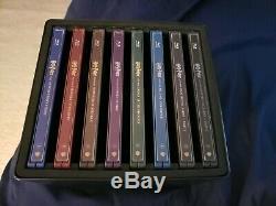 Steelbook Blu-ray Et 4k Complètent La Collection De 8 Films Steel Edition De Harry Potter