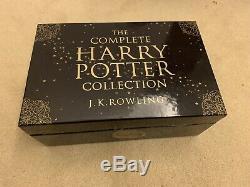 The Complete Collection Harry Potter J. K. Rowling Ouvert La Boîte