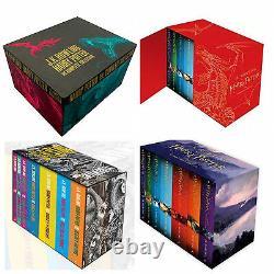 The Complete Harry Potter 7 Books Collection Coffret Cadeau J. K. Rowling
