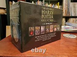 The Complete Harry Potter Collection (livres 1-7) Hardcover Box Set, Import