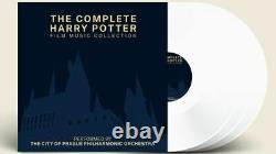 The Complete Harry Potter Film Music Collection Exclusive White 3x Vinyl Lp Set