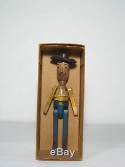 Toy Story Wood Doll / Jessie / Prospector / Bullseye Ensemble Complet Jeune Époque
