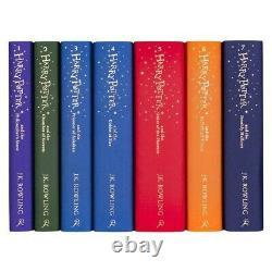 U. K. Édition Collector Harry Potter Hogwarts Ensemble Complet Bloomsbury