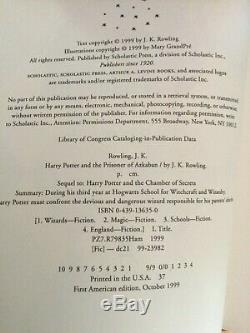 Vg Jeu Complet De 7 Hc Dj First Editions 1er Print Harry Potter Par J K Rowling