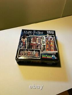 Wrebbit 3d Lot De 9 Puzzles 3d Harry Potter Tous Complets Et Assemblés
